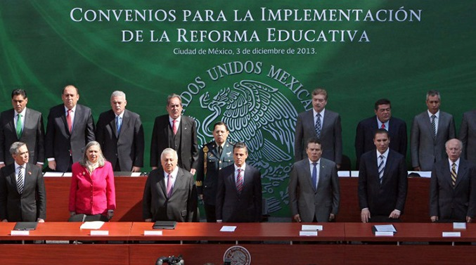 Gobierno Federal interpone controversias por reforma educativa