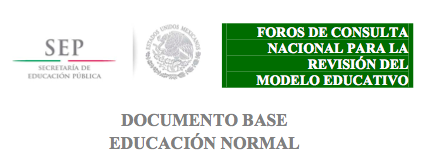 documento base educacion normal