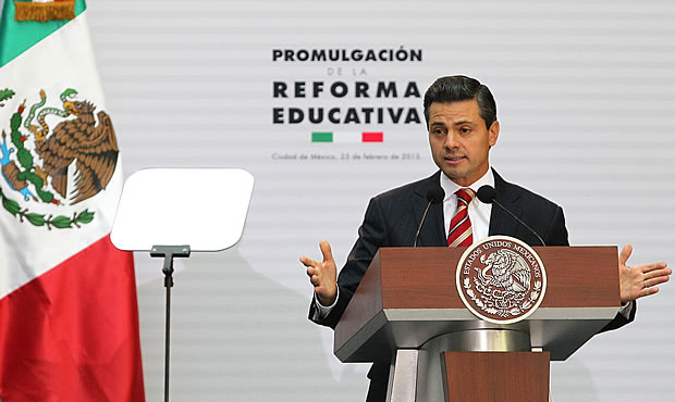 Refroma educativa EPN