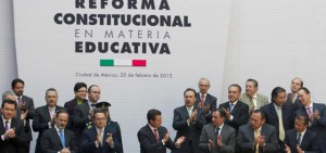 Pacto por mexico reforma educativa