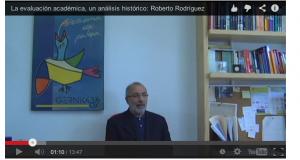 Roberto Rodríguez. Evaluacion