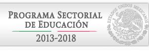 Programa Sectorial de Educacion 2013-2018