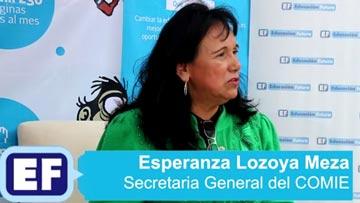 El docente es un facilitador del aprendizaje: Esperanza Lozoya del Comie