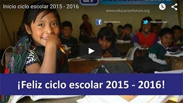 Inicio ciclo escolar 2015 - 2016