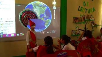 Voz del profe/Videocolaboración: usa Google Earth en tu clase