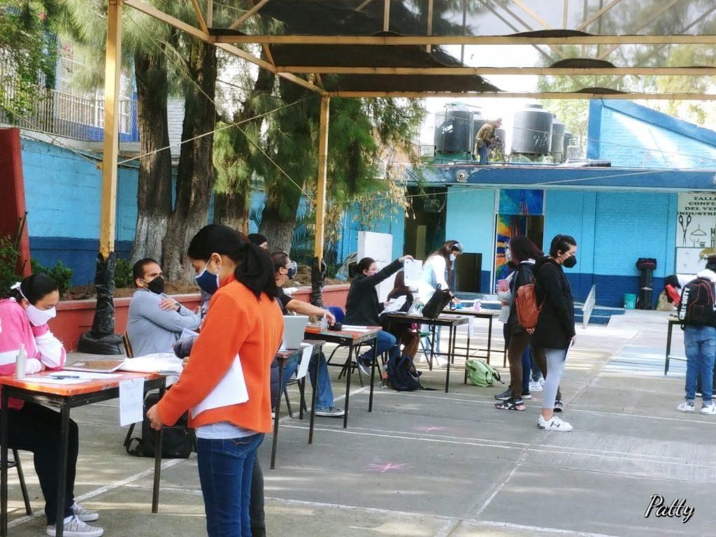 Reportan tercer caso de COVID 19 en escuela de la CDMX en menos de tres días